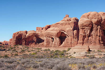 Photograph - Formations And Arches by John M Bailey