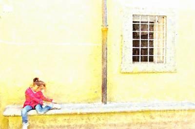 Photograph - Formello Child by Giuseppe Cocco