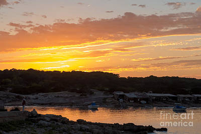 Photograph - Formentera Sunset by Rod Jones