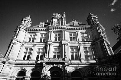 Postoffices Photograph - former Birmingham post office headquarters building UK by Joe Fox
