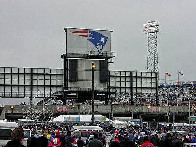 Photograph - Former Foxboro Stadium by Mike Martin