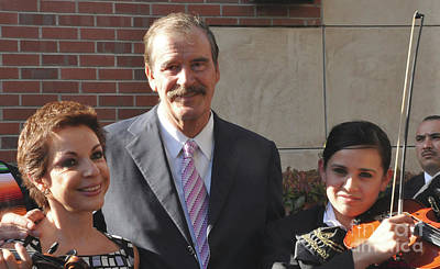 Photograph - Former Mexico President Vicente Fox  by Debby Pueschel