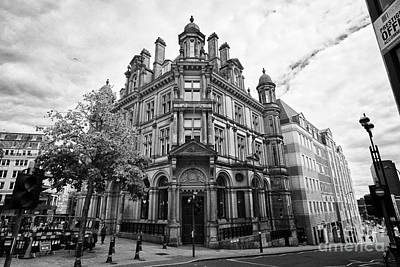 Postoffices Photograph - former post office hq building in Birmingham city centre UK by Joe Fox