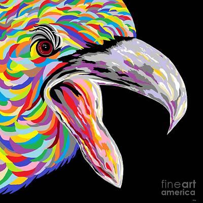 Formidable Eagle Art Print by Eloise Schneider