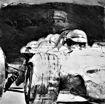 Photograph - Formula 1 B W by Rob Hans