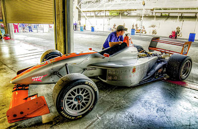 Photograph -  Formula Atlantic Robert At Indy by Josh Williams