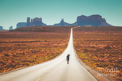 Photograph - Forrest Gump Road by JR Photography