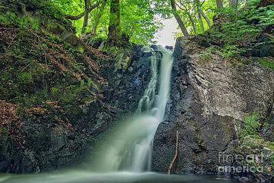 Photograph - Forsakar Waterfall In Sweden by Antony McAulay