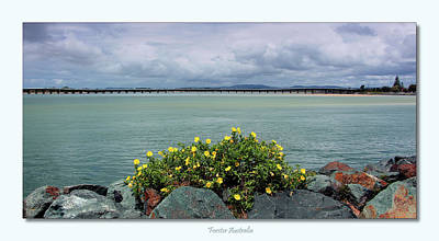 Digital Art - Forster Australia 01 by Kevin Chippindall