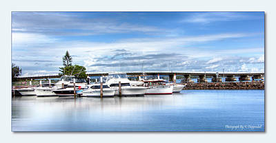 Digital Art - Forster Marina 0651 by Kevin Chippindall