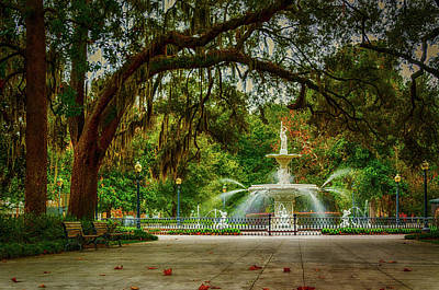 Photograph - Forsyth Park Fountain by Dutch Ducharme