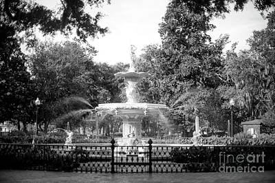 Photograph - Forsyth Park by John Rizzuto