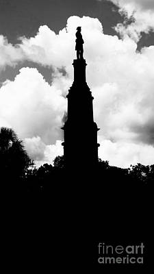 Photograph - Forsyth Park Monument  by Paul Wilford