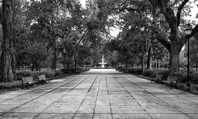 Photograph - Forsyth Park View by Dave Mills