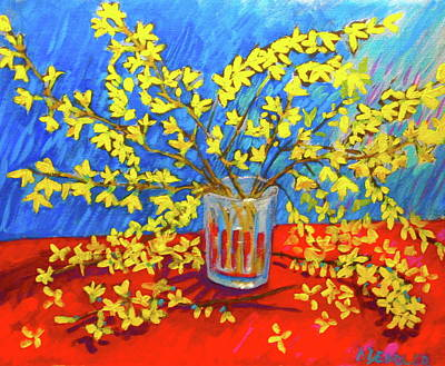 Forsythia Art Print