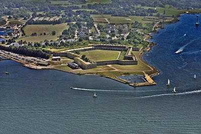 Photograph - Fort Adams Newport Rhode Island by Duncan Pearson