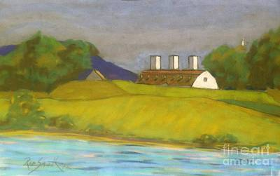 Pastel - Fort Anne -annapolis Royal  by Rae  Smith PAC