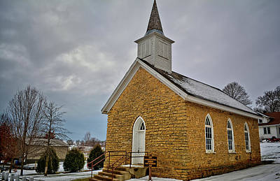 Photograph - Fort Atkinson Congregational by Bonfire Photography