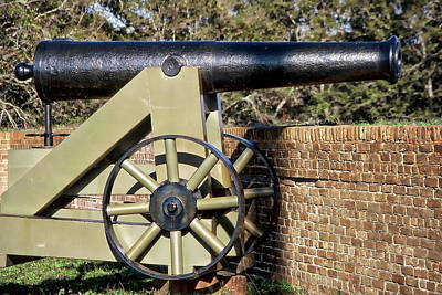Photograph - Fort Barrancas Cannon by Anthony Dezenzio