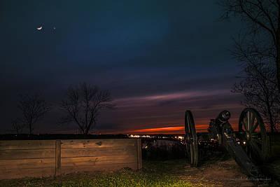 Parkersburg Wv Photograph - Fort Boreman Cannon by John Burns