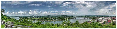 Photograph - Fort Boreman Lookout by Roman Wilshanetsky