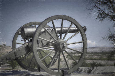 Photograph - Fort Camp Verde by Donna Kennedy