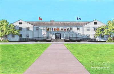 Fort Campbell Garrison Headquarters Art Print