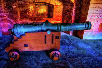 Fort Cannon Art Print by Garry Gay