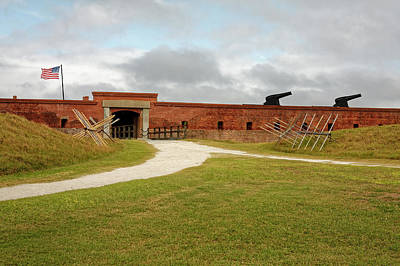 Photograph - Fort Clinch Entrance by Sally Weigand