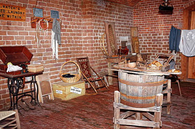 Photograph - Fort Clinch Laundry by Sally Weigand