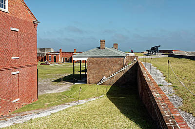 Photograph - Fort Clinch Overview by Sally Weigand
