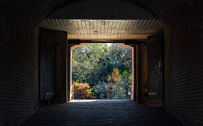 Photograph - Fort Clinch Portal by Kenneth Albin