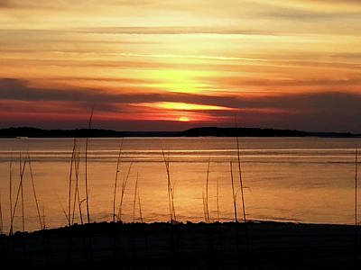 Photograph - Fort Clinch Sunset by Donna Kennedy