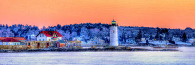 Photograph - Fort Constitution Light 273 by Jeff Stallard