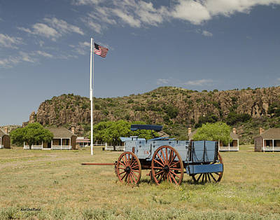 Photograph - Fort Davis by Allen Sheffield
