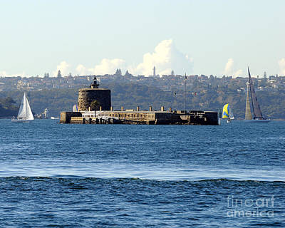 Photograph - Fort Denison by David Iori