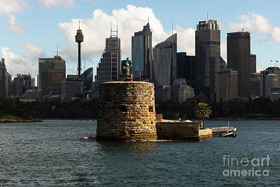 Photograph - Fort Denison Sydney by Andrew Michael