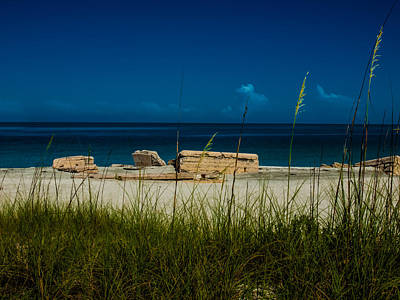 Photograph - Fort Desoto Beach by Randy Sylvia