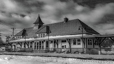 Photograph - Fort Edward Train Station by Kendall McKernon