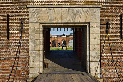 Photograph - Fort Entrance by David Arment