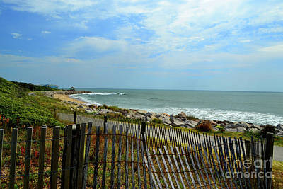 Photograph - Fort Fisher Beach by Amy Lucid