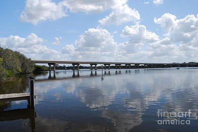 Photograph - Fort Hamer Bridge by Gary Wonning