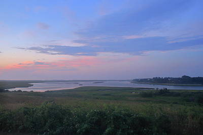 Photograph - Fort Hill Cape Cod National Seashore At Dawn by John Burk