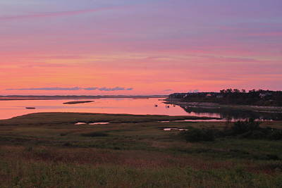 Photograph - Fort Hill Sunrise Cape Cod National Seashore by John Burk