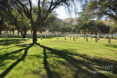 Photograph - Fort Huachuca Post Cemetery by Gina Savage