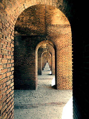 Photograph - Fort Jefferson Arches by Andy Jeter