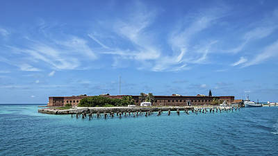 Photograph - Fort Jefferson by Dawn Currie