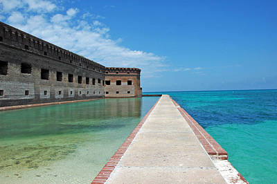 Tortuga Beach Photograph - Fort Jefferson Dry Tortugas by Susanne Van Hulst