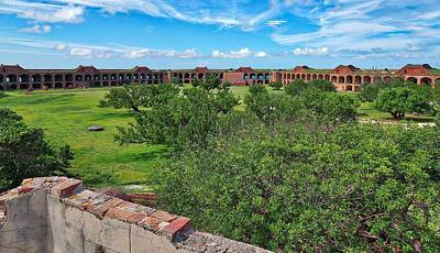 Photograph - Fort Jefferson by Farol Tomson