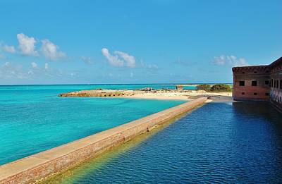 Photograph - Fort Jefferson Moat by Christopher James